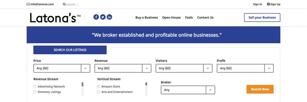 Latona's Business Brokers