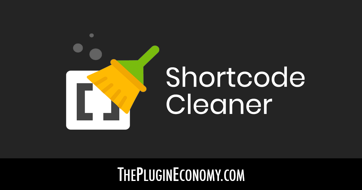 Shortcode Cleaner