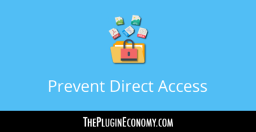 Prevent Direct Access