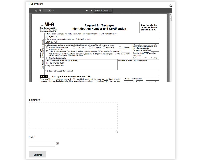 Gravity PDF Screenshot: Preview