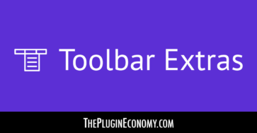 Toolbar Extras