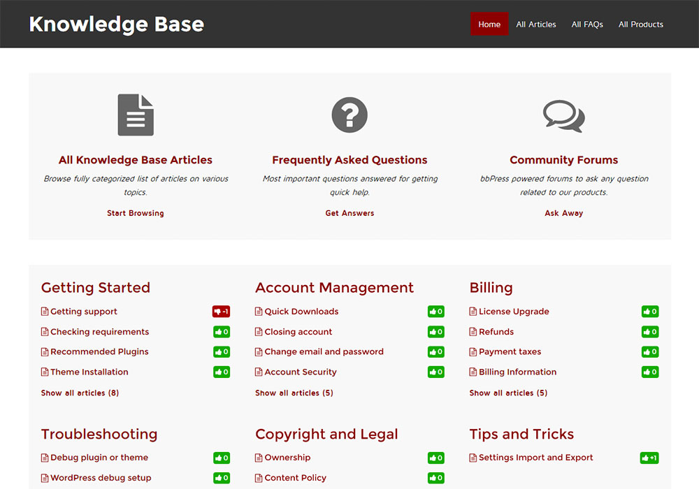 GD Knowledge Base Pro Screenshot