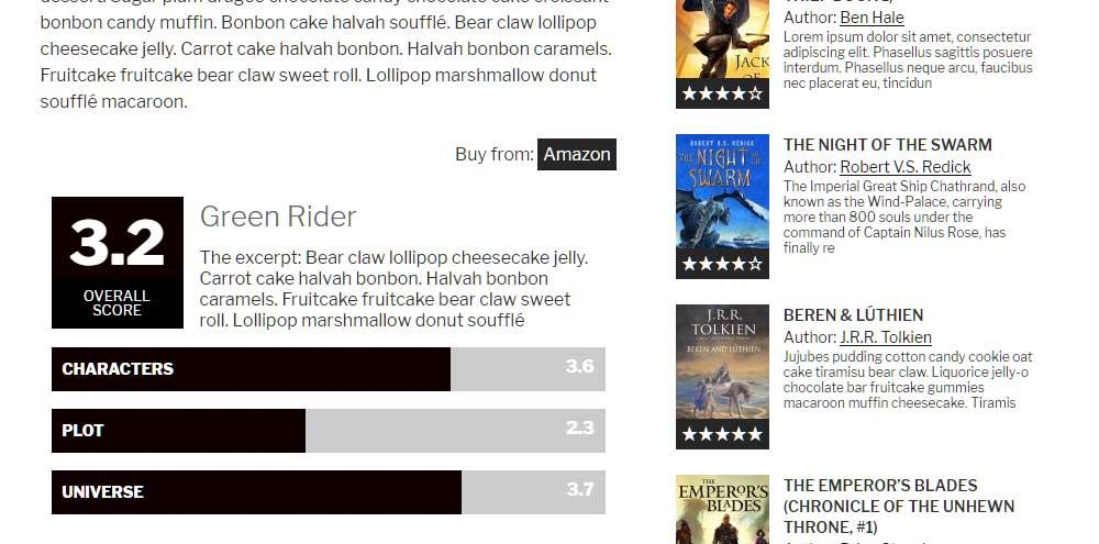 Recencio Book Reviews Screenshot