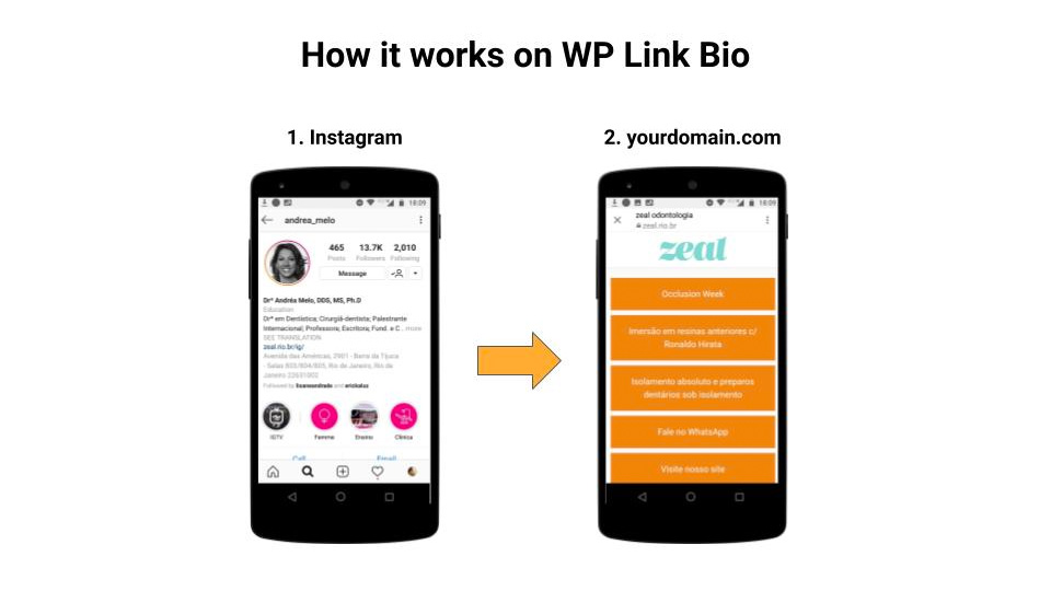 WP Link Bio Screenshot