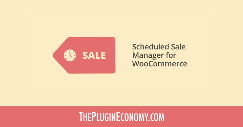 Scheduled Sale Manager for WooCommerce