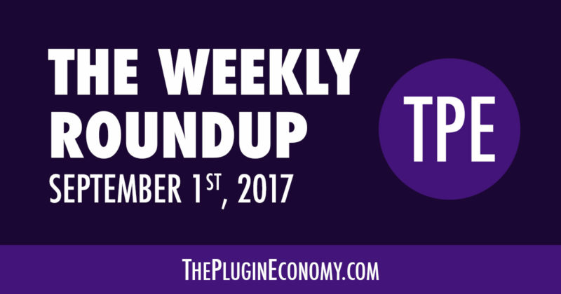 The Weekly Roundup for September 1st, 2017